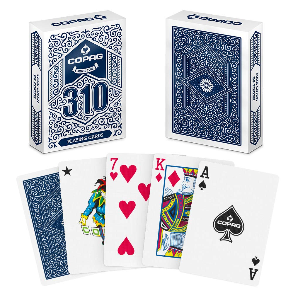 COPAG 310 Playing Cards Blue