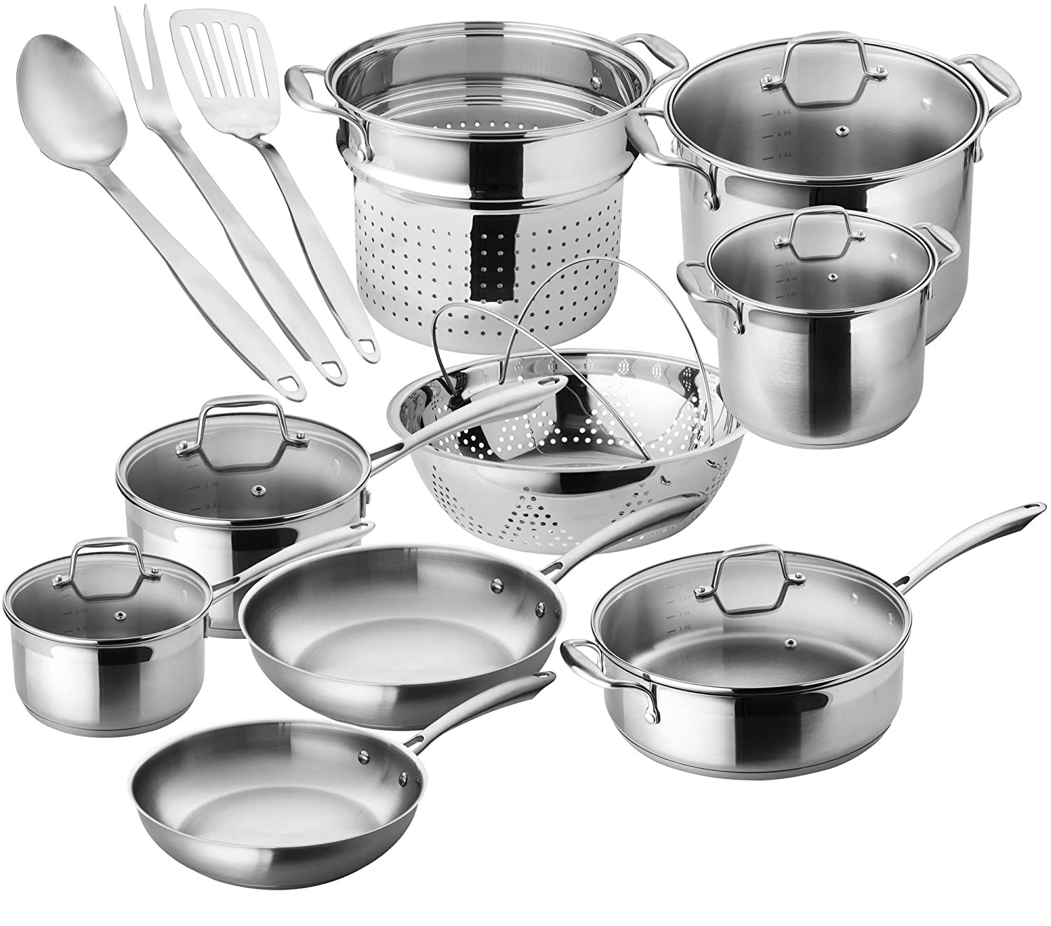 Chef's Star Premium Pots And Pans Set