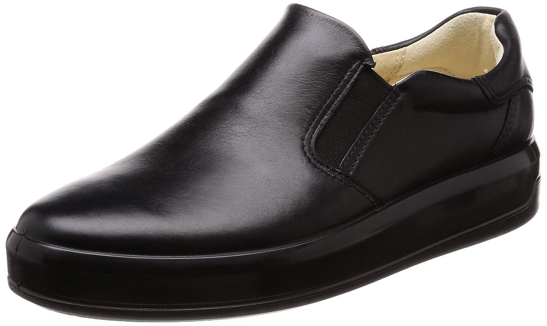 Ecco Soft 9, Zapatillas sin Cordones para Mujer 35 EU Negro (Black)