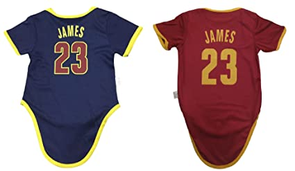 c446217bf Amazon.com  iSport Gifts James Basketball Jersey Lebron Baby Infant ...