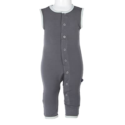 Kickee Pants Baby Boys' Solid Tank Coverall Prd-kptca804-Staot