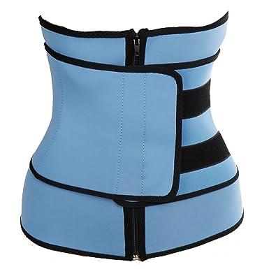 cb9dbfc45bd Kiwi-Rata Corset Waist Trainer Cincher Control Body Shaper Underbust Belt  Sport Women s Clothing