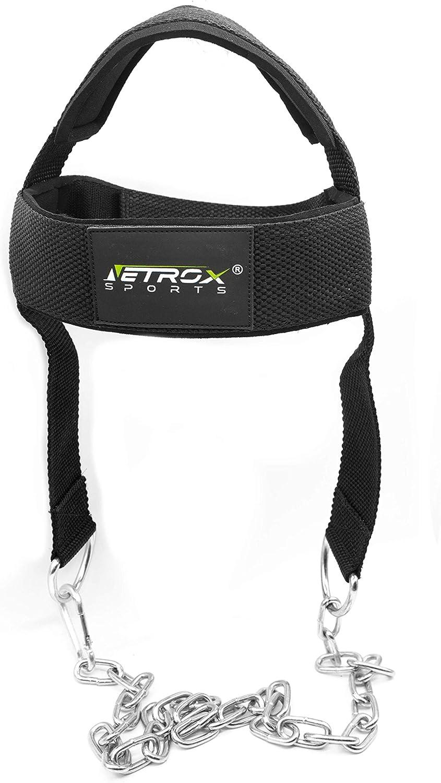 Kopf Hals und Nackentrainer verstellbar perfekt f/ür einen trainierten Nacken Kraftsport und Kampfsport einfach und effektiv Nacken Trainieren