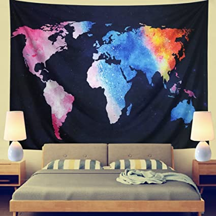 Leofanger World Map Tapestry Wall Hanging Vintage Watercolor Colorful on world map tapestry urban outfitters, world map paintings, world map dresses, world map bedroom decor, world map blankets, world map patterns, world map canvas, world map mirrors, world map souvenirs, world map pillows, world map t-shirts, world map watercolors, world map calligraphy, world map wallpaper, world map photography, world map vases, world map drawings, world map tiles, world map gold, world map scarves,