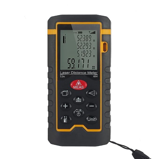 Laser Entfernungsmesser Distanzmesser Abstandsmesser Messgerät Ultraschall DE