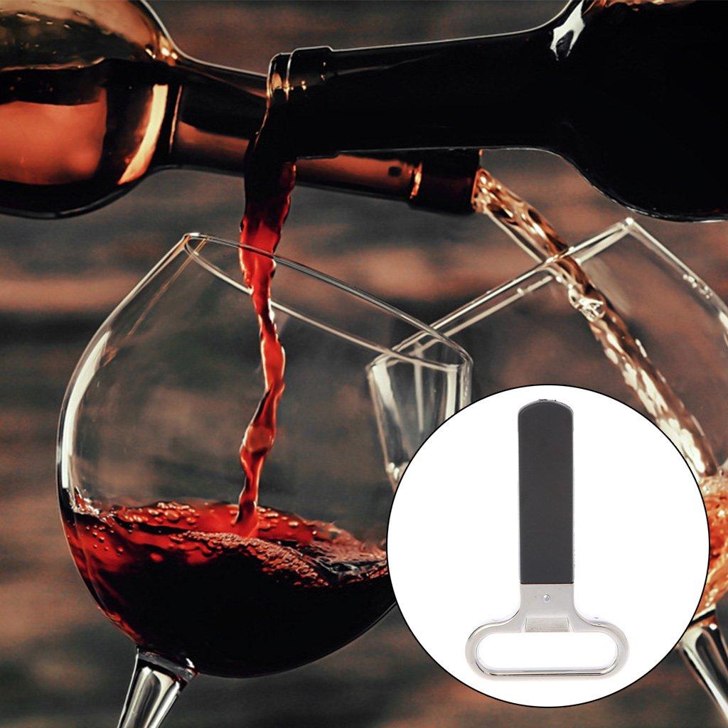 Guoyy D/écapsuleur de bar /à double fourchette en li/ège D/écapsuleur Champagne Vin Professionnel
