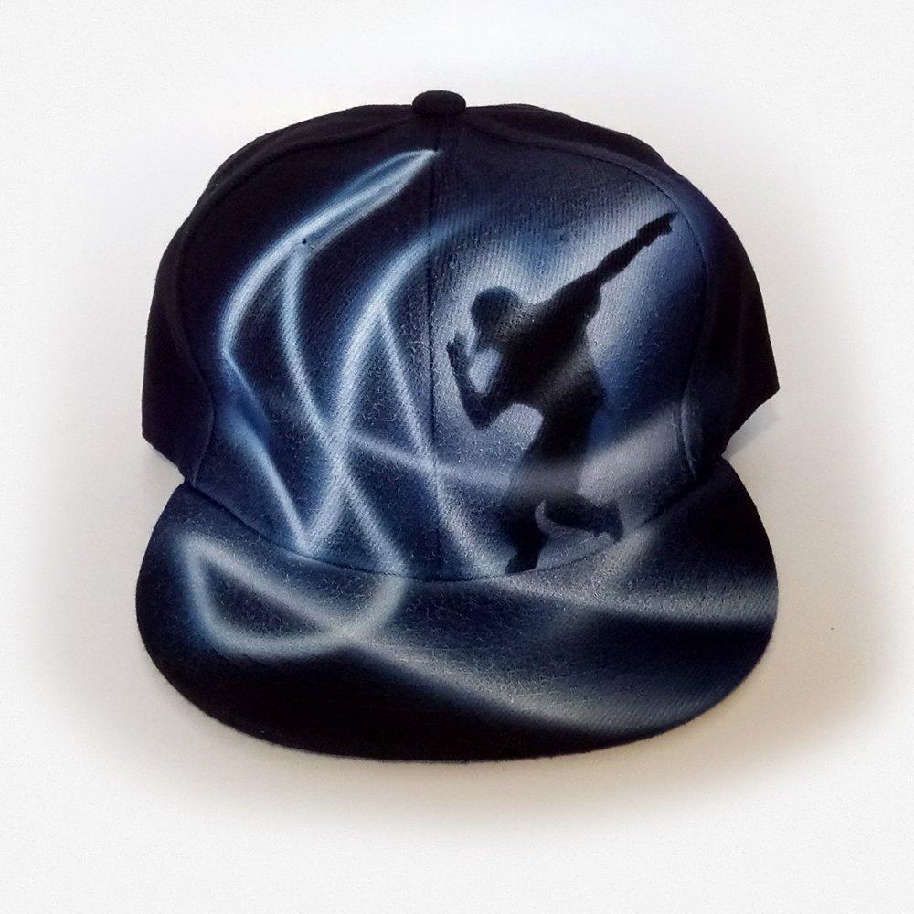 Street Dancer Custom graffiti airbrushed Snapback hat cap |Custom name cap |Hip hop hat |Break dancer |Dancer gift |Flat cap |Painted Snapback cap