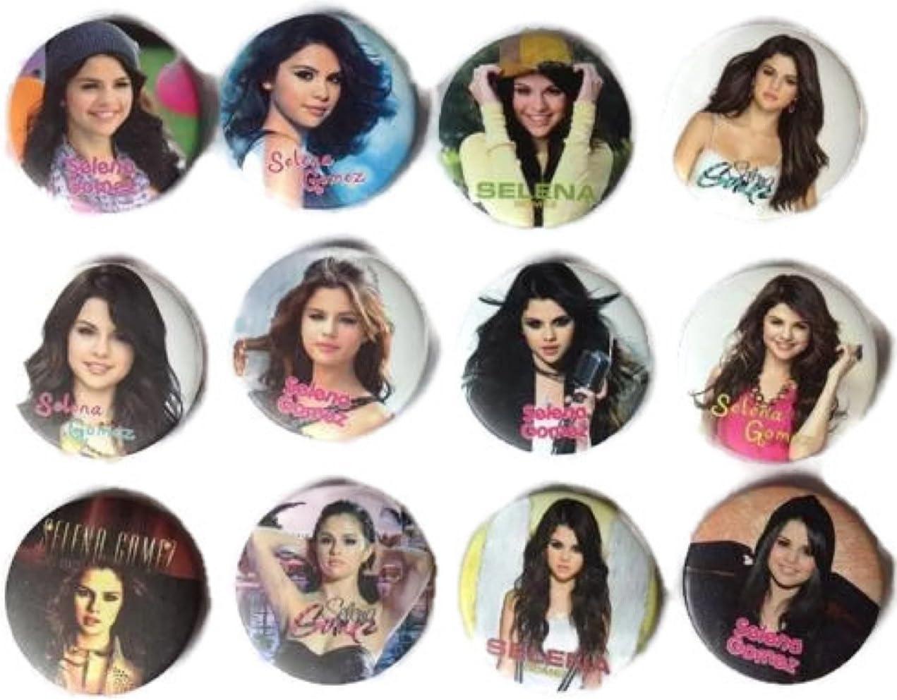 The Bigger Vivider 1.75 Lot 12 Awesome Pin Button Badge Selena Gomez album brooch