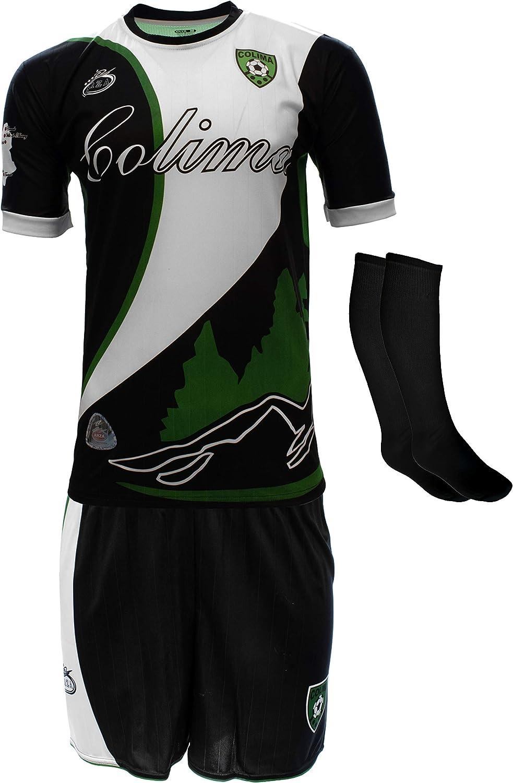 Jertinhf 2020-2021 Kids//Youths Home Soccer Jersey//Short//Socks Colour Blue