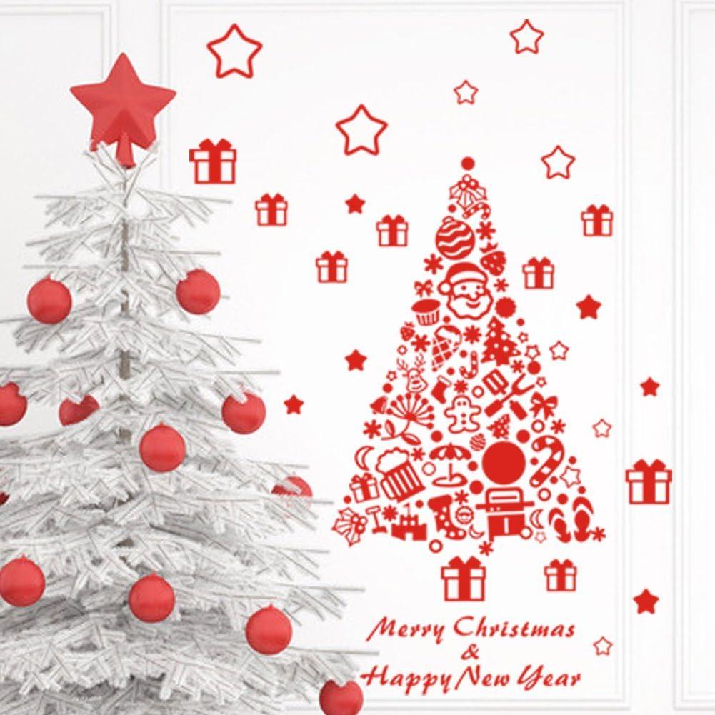 Amazon Zooarts ウォールステッカー クリスマス 飾り クリスマス