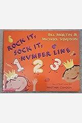 Rock it, sock it, number line Paperback