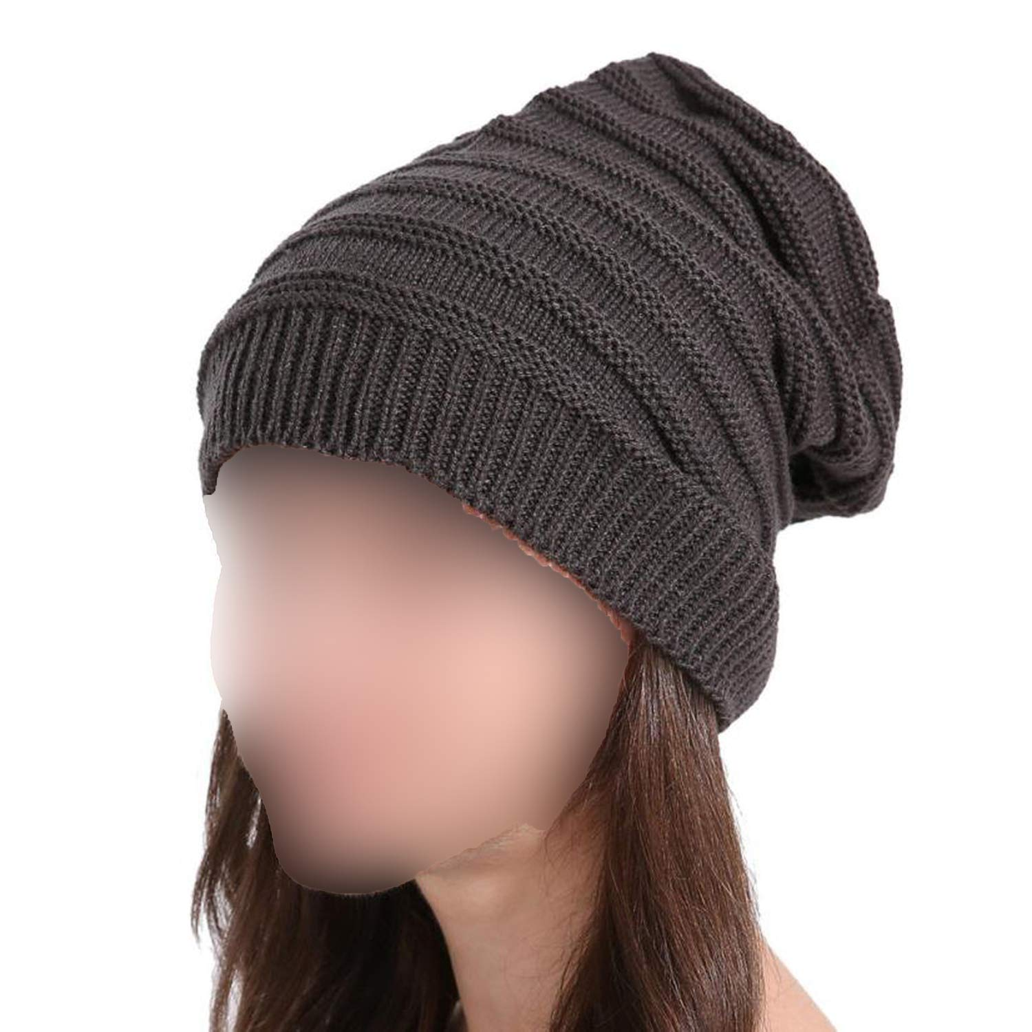 Unisex Warm Spring Autumn Cap Woman Wool Knit Beanie Cap Skull Hats for Women