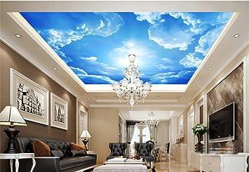 Wongxl Wandbilder Tapete Solar Solar Lantian Baiyun Decke ...