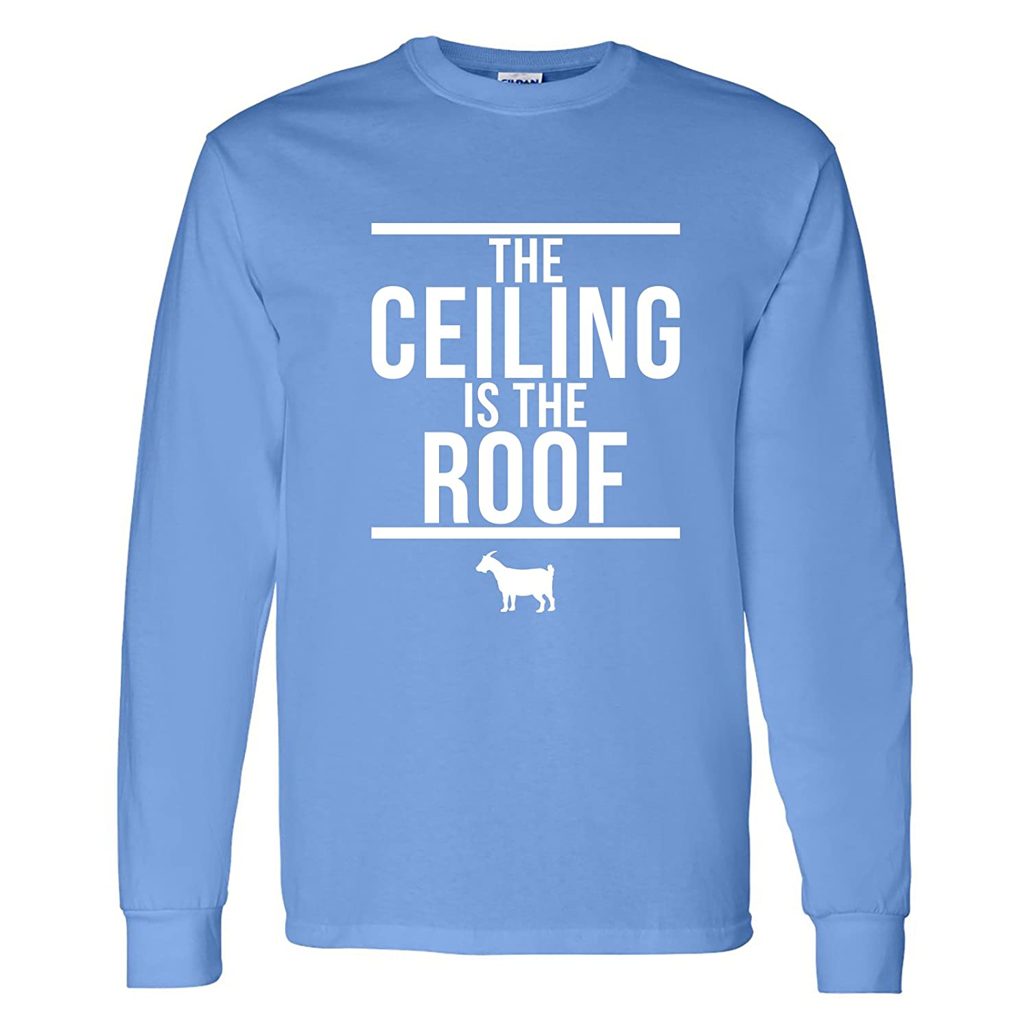 Amazon.com: UGP Campus Apparel The Ceiling is The Roof, Basketball ...