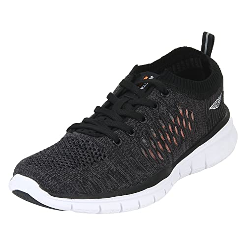 sale retailer 1c9a0 a8516 Red Tape Men's Black Running Shoes