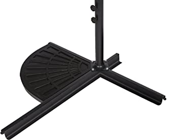 Resin Umbrella Base Weight For Offset Umbrella   30lbs   By Trademark  Innovations