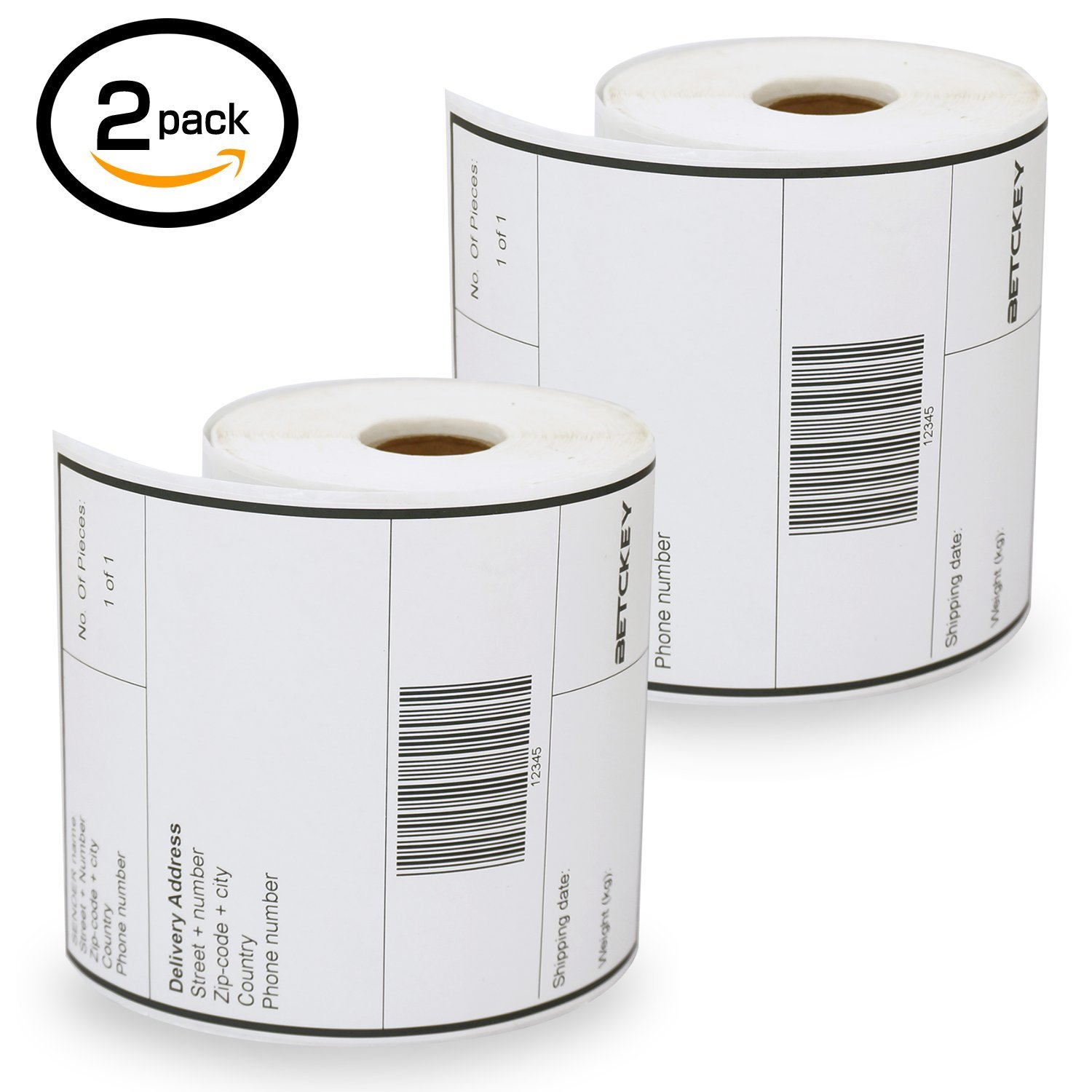 1 Rolls Dymo S0904980 Compatible 4XL Internet Postage Extra-Large 104mm x 159mm Shipping Labels