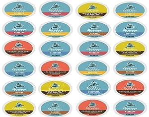 Caribou Coffee K Cups Variety Pack - 24 Count / 6 Varieties