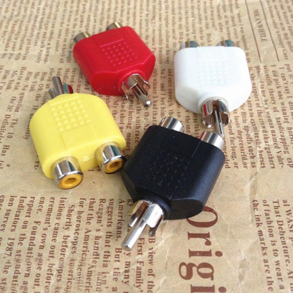 Gazechimp 4 Piezas de Adaptador de Enchufe Color M/últiple Electr/ónica de Consumo Compatibilidad Universal Duradero Impermeable Prueba de Polvo AntiChoque Antivibraci/ón