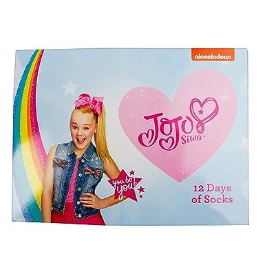 3df327f4c13 Jojo Siwa 12 Days of Socks Advent Calendar Gift Set (Girls) (Large 3