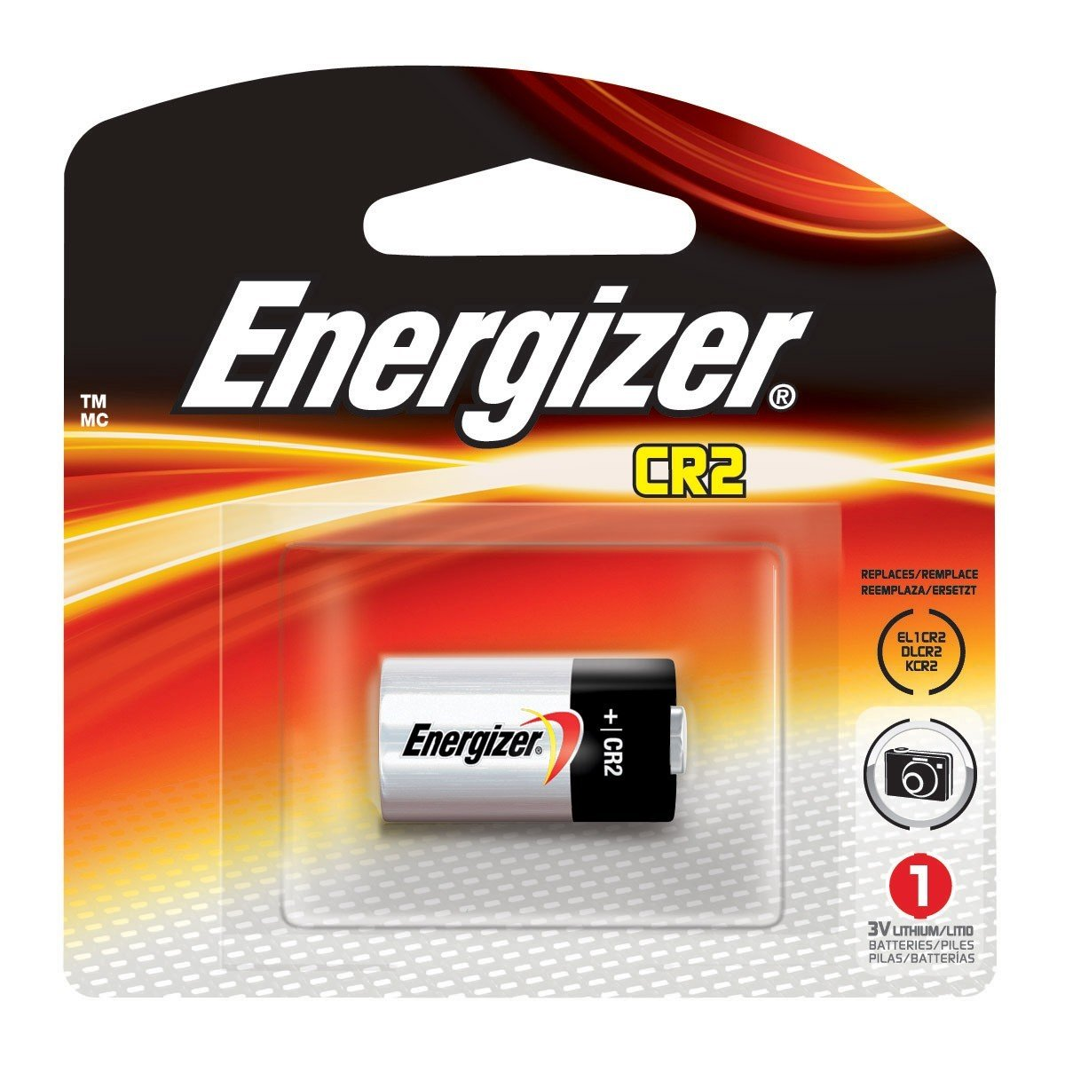 Energizer EL1CR2 Photo Lithium Battery Replacement