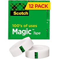 Deals on Scotch Magic Tape, 12 Rolls