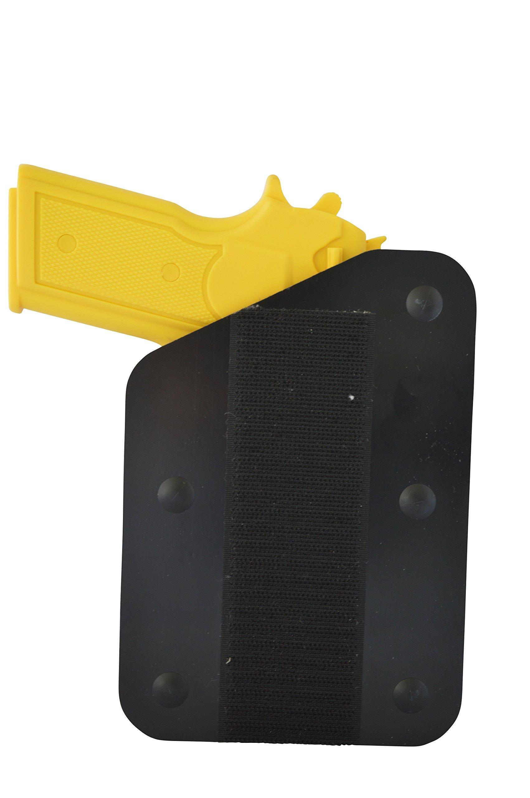 Benchmaster - Weapon Rack - Single (1) Gun Pistol Rack - Left - Velcro Hook - Gun Safe Storage Accessories - Gun Rack