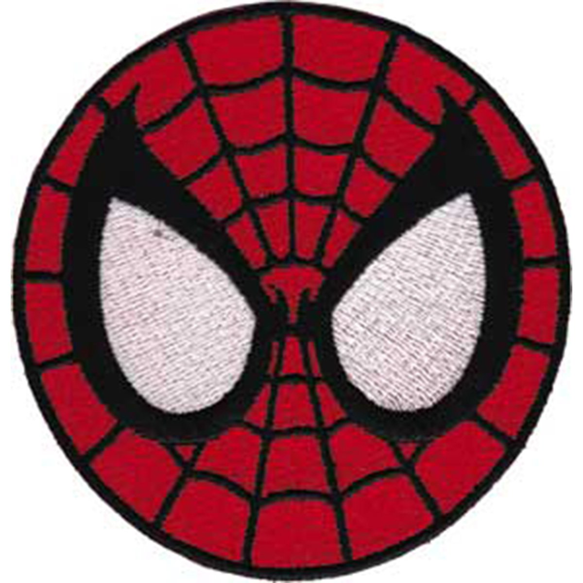Spiderman Application Aplicación Mask Patch,Parche Officially Oficialmente Licensed Autorizado Marvel Comics Superhero Artwork,Ilustraciones Iron-On/Sew-On, ...