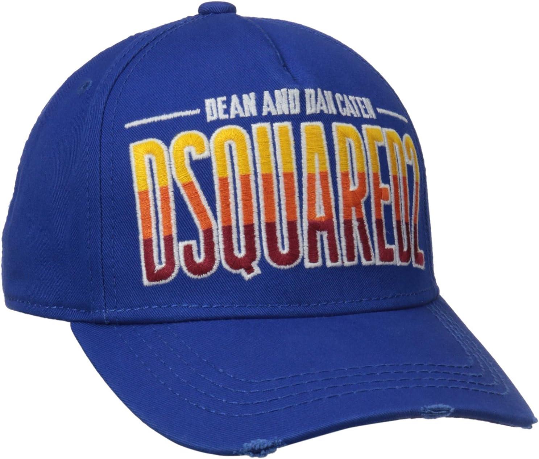 Dsquared - Gorra de béisbol - para hombre azul azul Talla única ...