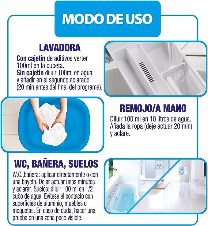 Neutrex Lejía Futura para la ropa - 2L: Amazon.es: Amazon Pantry