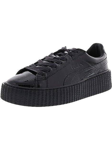 Puma364462 01 - Creeper Blanco Negro Mujer: Puma: Amazon.es: Zapatos y complementos