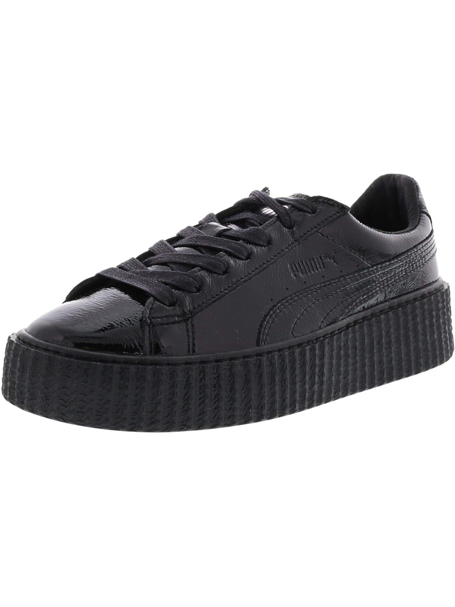 competitive price 90b19 02d50 PUMA Women's Fenty x PUMA Cracked Creeper Sneakers, Puma Black/Puma Black,  8.5 B(M) US