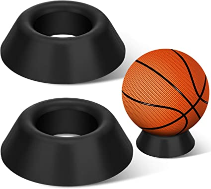 2 Piezas Soportes de Bola Soporte de Pantalla de Bola Pedestal de ...