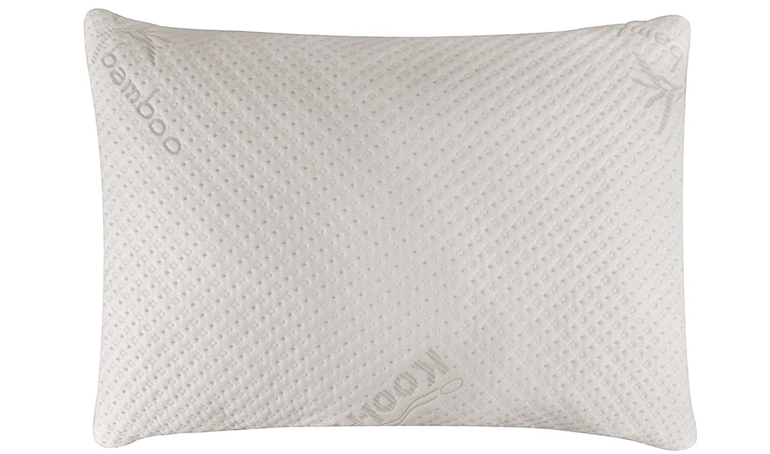 Snuggle-pedic bamboo memory foam pillow
