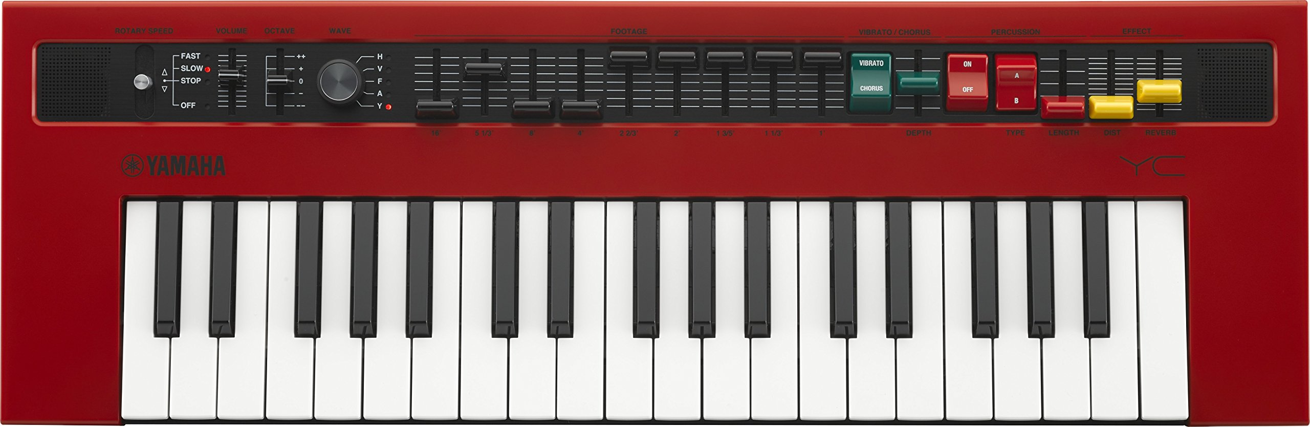 Yamaha REFACE YC Portable Combo Organ with Vintage Organ Waves and Effects by YAMAHA (Image #1)