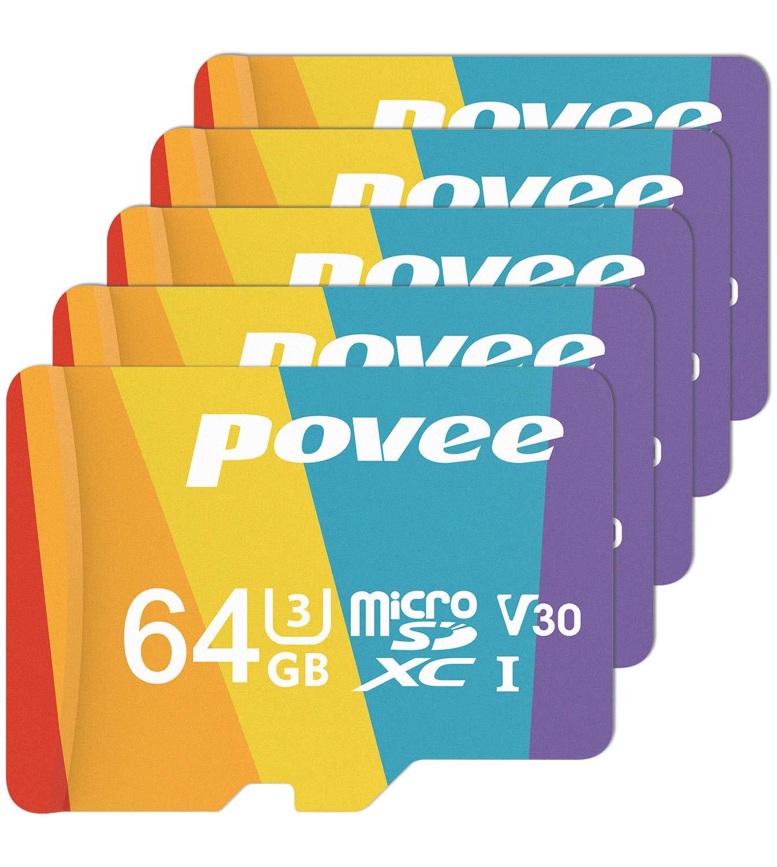 Amazon.com: Tarjeta micro SD con adaptador, U3 A1 tarjeta ...