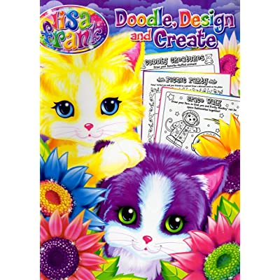 Lisa Frank Doodle, Design & Create Coloring & Activity Book: Toys & Games