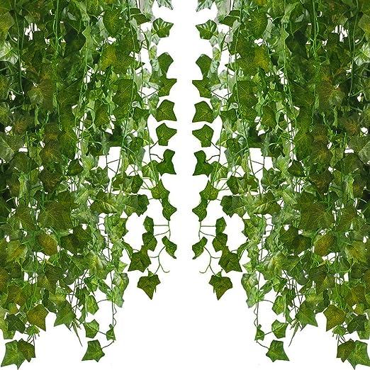 PPlantas Verdes Artificiales, Guirnaldas Falsas, Plantas De Vid ...