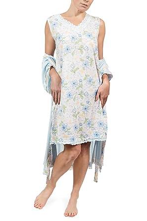 79a7797cc2 Prime Sleepwear Women s Floral Short Sleeve Capri Set at Amazon ...