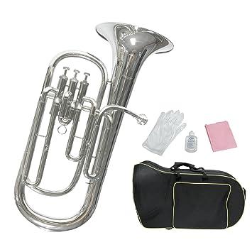 Vintage Blasinstrumente Gerade Trichter Schallstück Für Euphonium Gerade