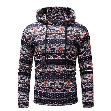BBestseller Hombres Sudadera con Capucha Abrigo cálido de Hombre Jersey de Invierno Outwear Hooded Pullover Suéter de los Hombres: Amazon.es: Ropa y ...