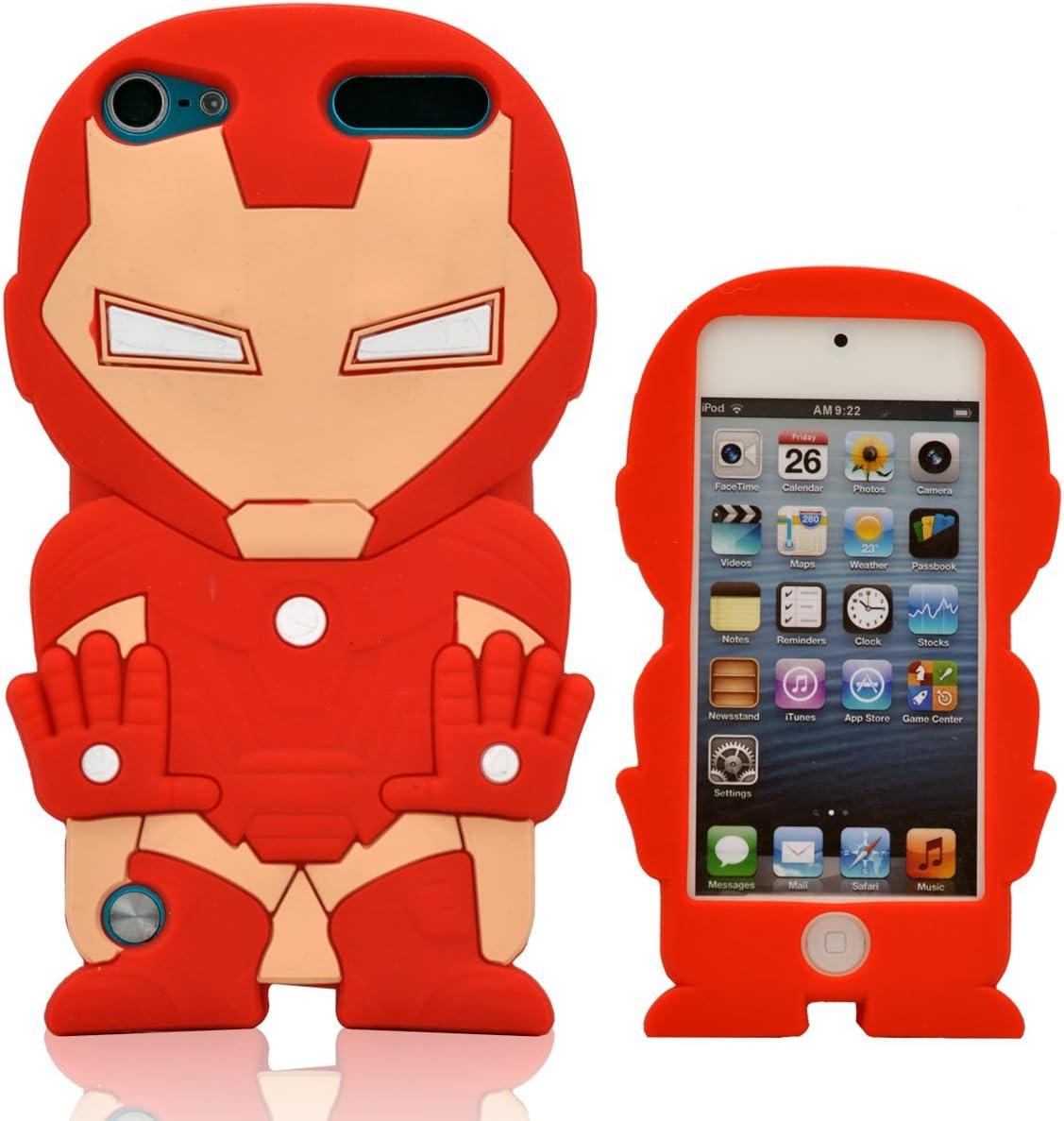Oneshow Coque 3D en silicone Motif Avengers Iron Man compatible ...