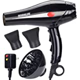WarmLife 2000W Professional Ionic Ceramic Hair Dryer, Powerful Fast Dry Blow Dryer - 2 Speeds - 3 Heat Settings