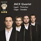 Jack Quartet: Ligeti / Pintscher / Cage / Xenakis - Wigmore Hall Live