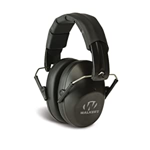 Walker's Hearing Protection Low Profile Passive Folding Muff