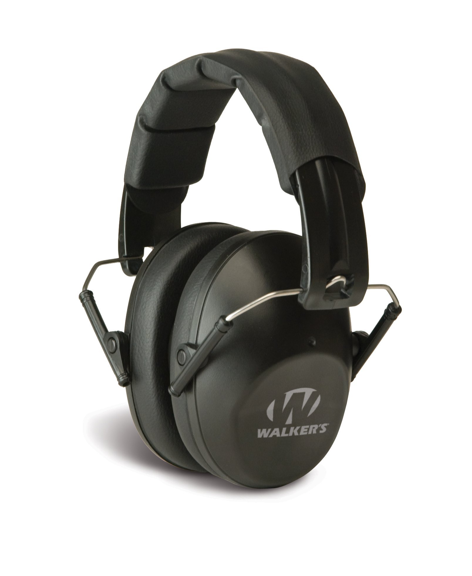 Walker's Game Ear Low Profile Folding Muff, Black by Walker's Game Ear