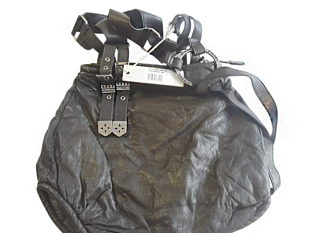Diesel Handbag 00B682PR003H0189 Bagage Cabine, 30 cm, 6 liters, Noir (Schwarz)