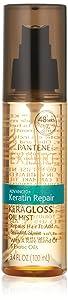 Pantene Pro-V Expert Collection Advanced+ Keratin Repair Keragloss Oil Mist, 3.4 Fluid Ounce