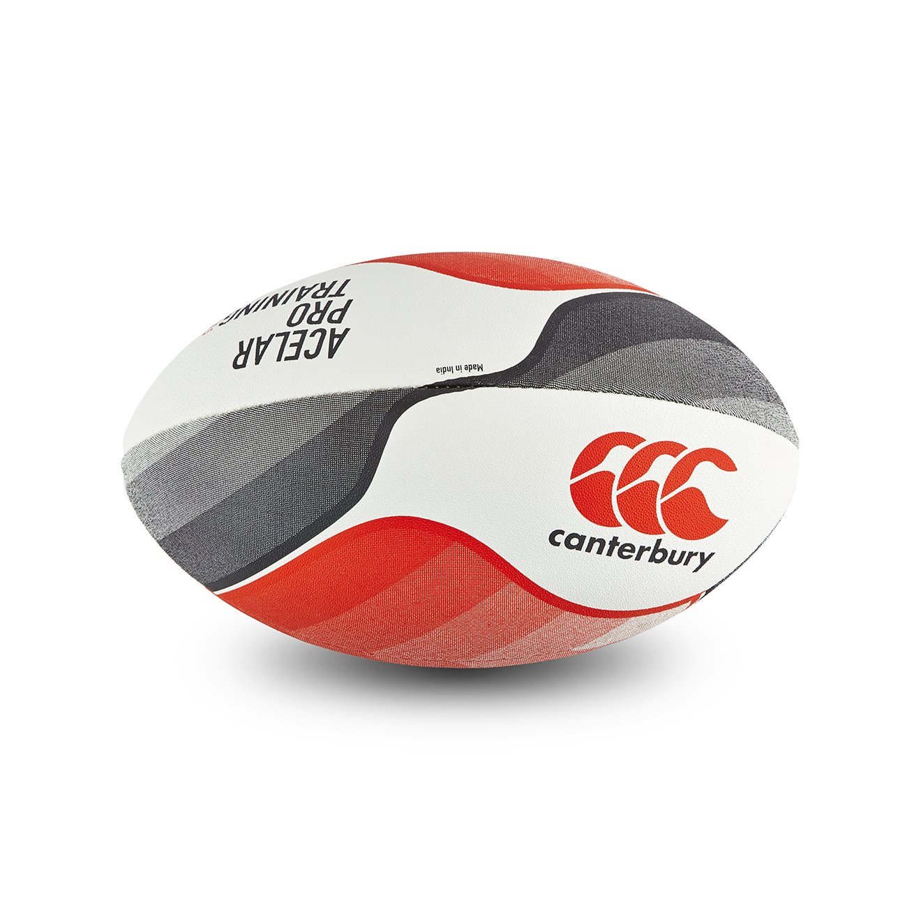 Canterbury Acelar Pro Training Pelota de Rugby, Color Flag Red ...
