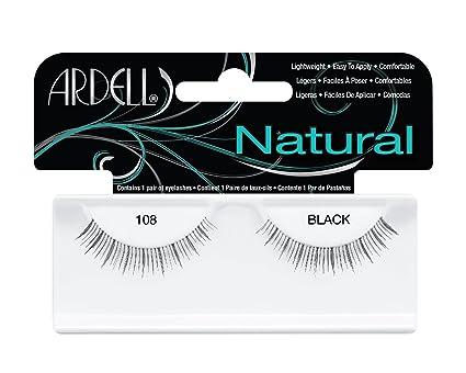 c0b86d3961f Amazon.com: Ardell Demi Black 108 Natural Lash -- 4 per case.: Home ...